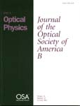 Journal of the Optical Society of America. B. Optical Physics