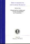 Sitzungsberichte der Leibniz-Sozietat